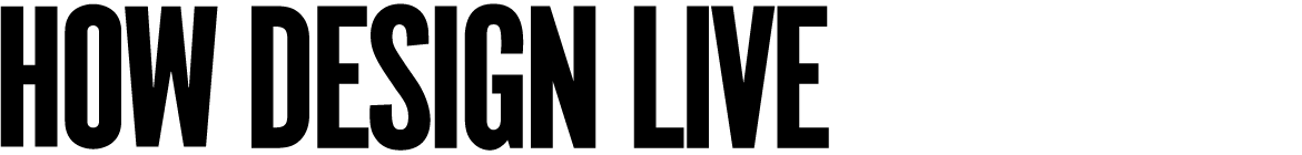HOW Design Live logo no dates