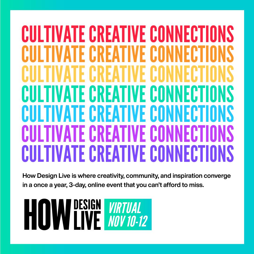 HOW Design Live Virtual 2020 Instagram Images