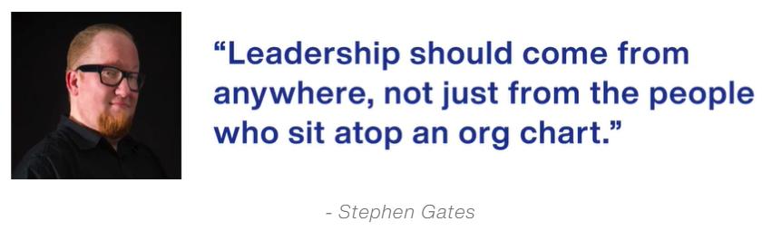 Stephen Gates Quote 1